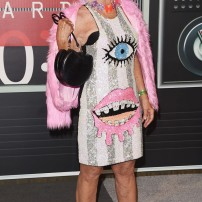 10/10 Baddie Winkle in this sequin covered mini-dress. Seriously too cool! Jason Merritt/ Getty Images