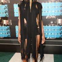 10/10 Ciara in this amazing fringe dress by Alexandre Vauthier. Classy as per. Kevin Mazur/ WireImage