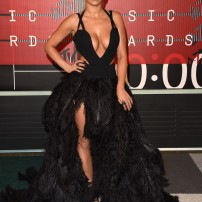 10/10 Rita Ora in this daring Vera Wang gown. Vera being her expected designer, Rita looks her usual self. Jason Merritt/ Getty Images